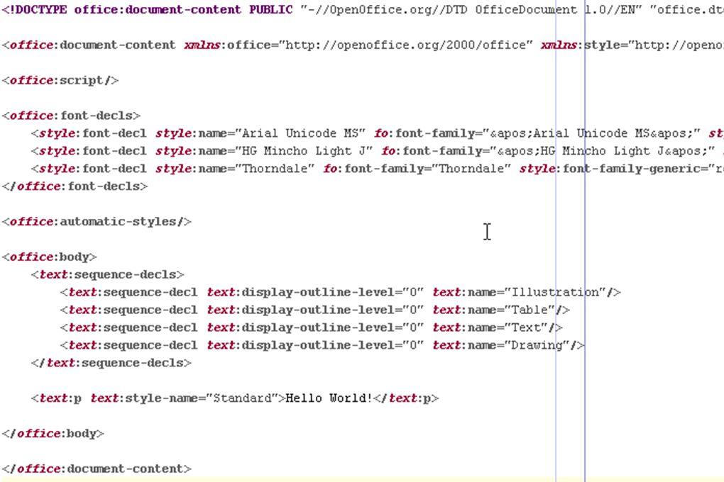 Kodowanie znaków w XML Prolog mówi parserowi jakiego kodowania należy użyć w interpretacji dokumentu Nazwy stron kodowych: IETF RFC 1766 Domyślna UTF-8 (Unicode) Przykład: prosty plik XML z literką ą