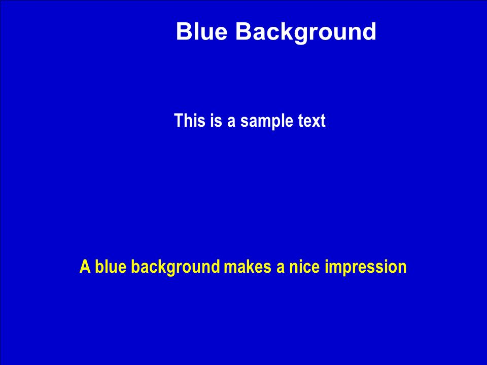 J. Nawrocki, Team building Blue Background This is a sample text A blue background makes a nice impression