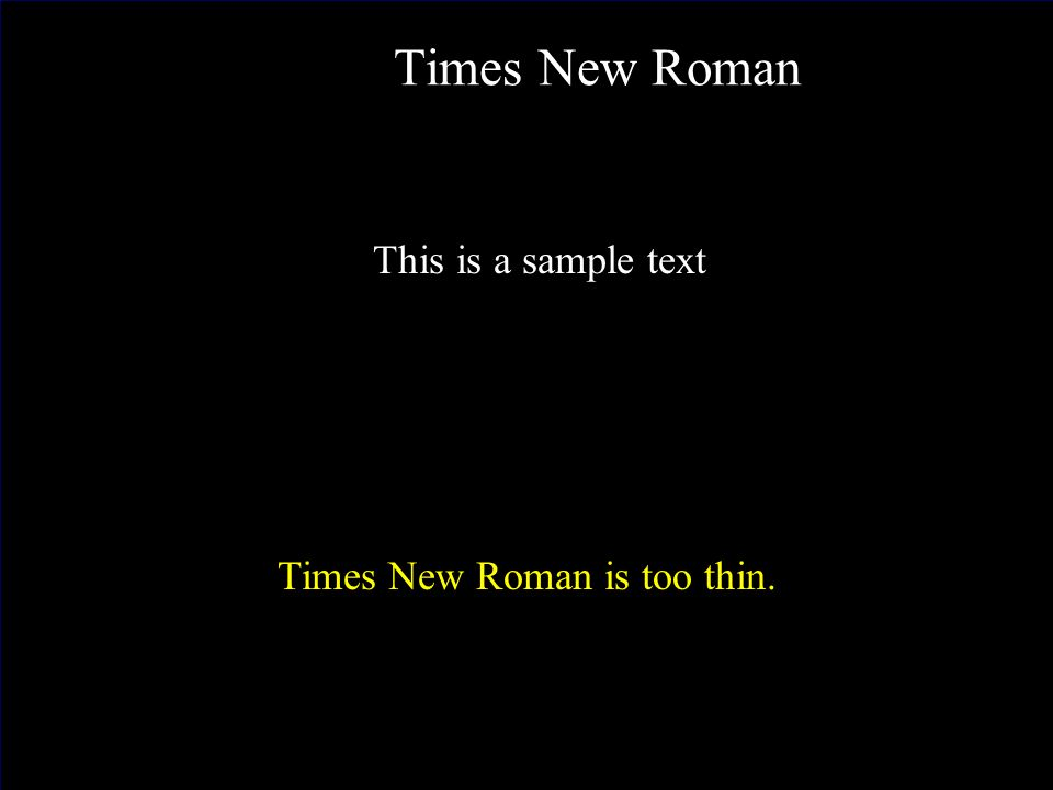 J. Nawrocki, Team building Times New Roman This is a sample text Times New Roman is too thin.