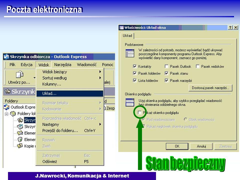 J.Nawrocki, Komunikacja & Internet Poczta elektroniczna