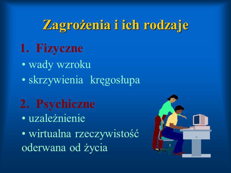 3.Moralne Łatwy ( niekontrolowany ) dostęp do informacji 4.