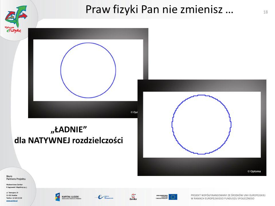 PLAZMA 19 Większość wad (i zalet!) monitorów CRT Problemy: zasilanie i wielkość (nie da się zrobić małych!)