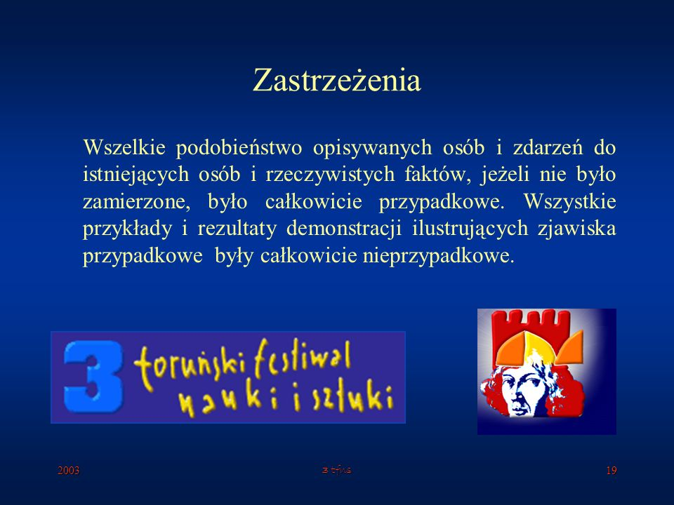 20033 tfns18 Post scriptum Gra Parrondo?... Nic z tego!!!