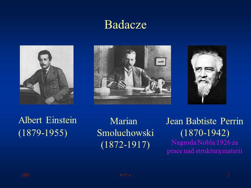 20033 tfns4 Ruchy Browna Robert Brown (1773-1858) cząsteczki aktywne