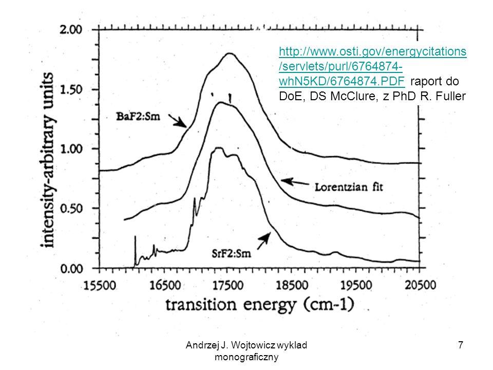 Andrzej J. Wojtowicz wyklad monograficzny 7 http://www.osti.gov/energycitations /servlets/purl/6764874- whN5KD/6764874.PDFhttp://www.osti.gov/energyci