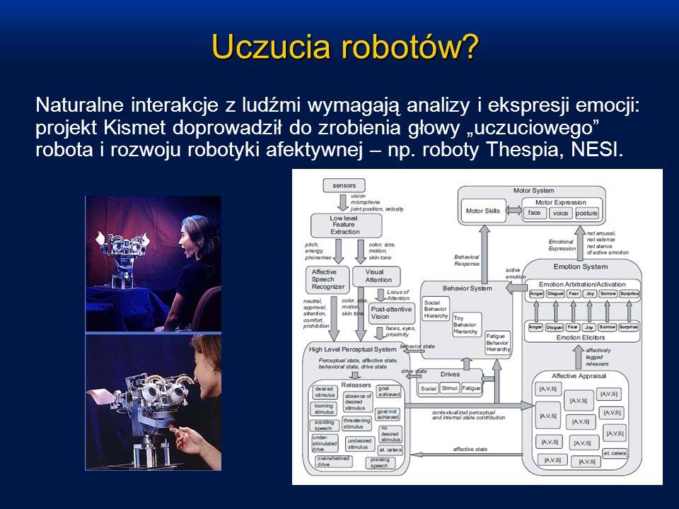 Uczucia robotów? Naturalne interakcje z ludźmi wymagają analizy i ekspresji emocji: projekt Kismet doprowadził do zrobienia głowy uczuciowego robota i