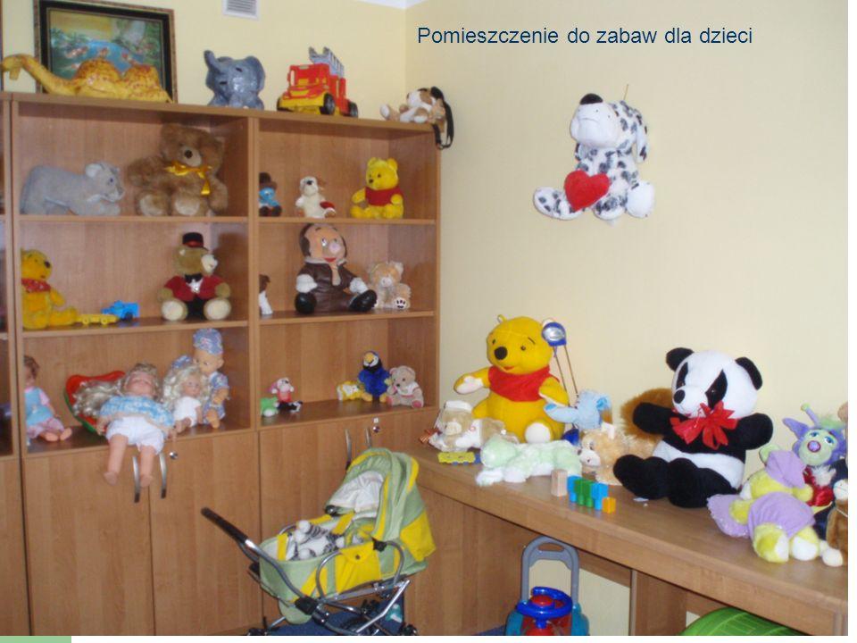 POKÓJ DLA DZIECI W HOSTELU SOW Pomieszczenie do zabaw dla dzieci