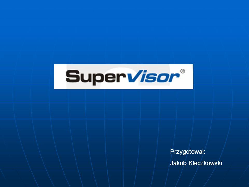 SUPERVISIOR to program umożliwiający zdalnego dostępu do pojazdów poprzez sieć bezprzewodową.