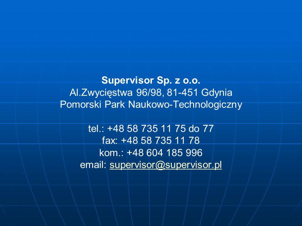 Supervisor Sp. z o.o.