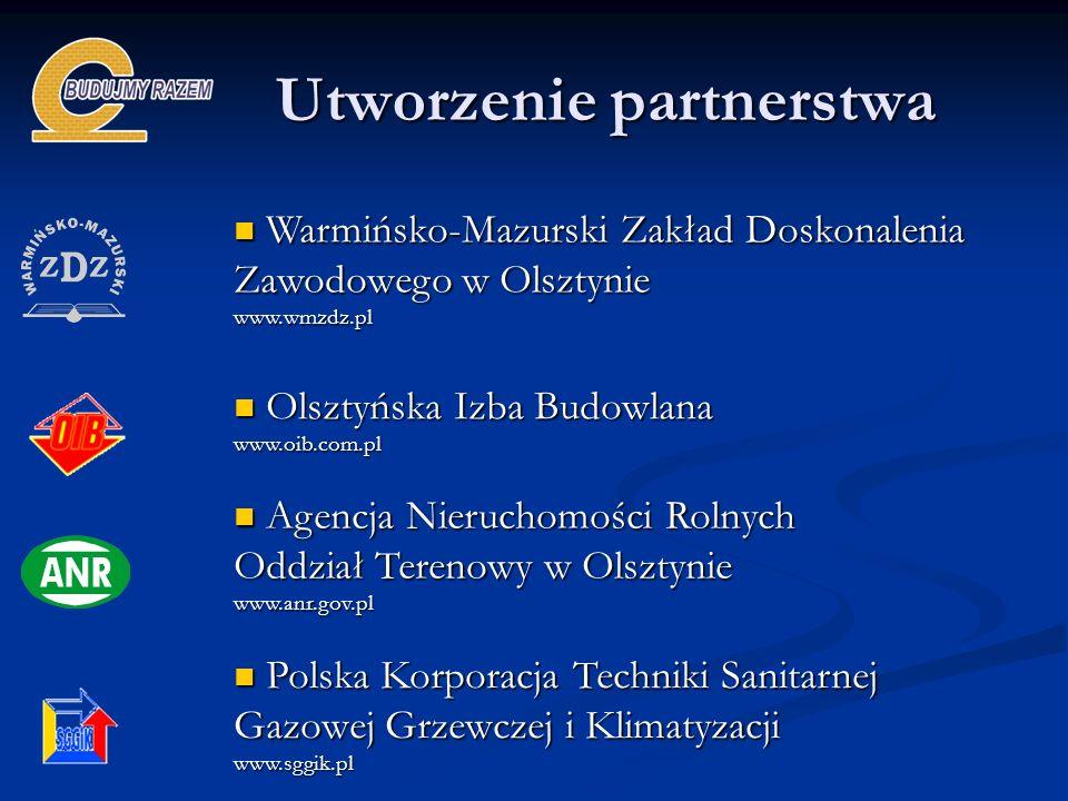 Utworzenie partnerstwa Warmińsko-Mazurski Zakład Doskonalenia Zawodowego w Olsztynie Warmińsko-Mazurski Zakład Doskonalenia Zawodowego w Olsztyniewww.