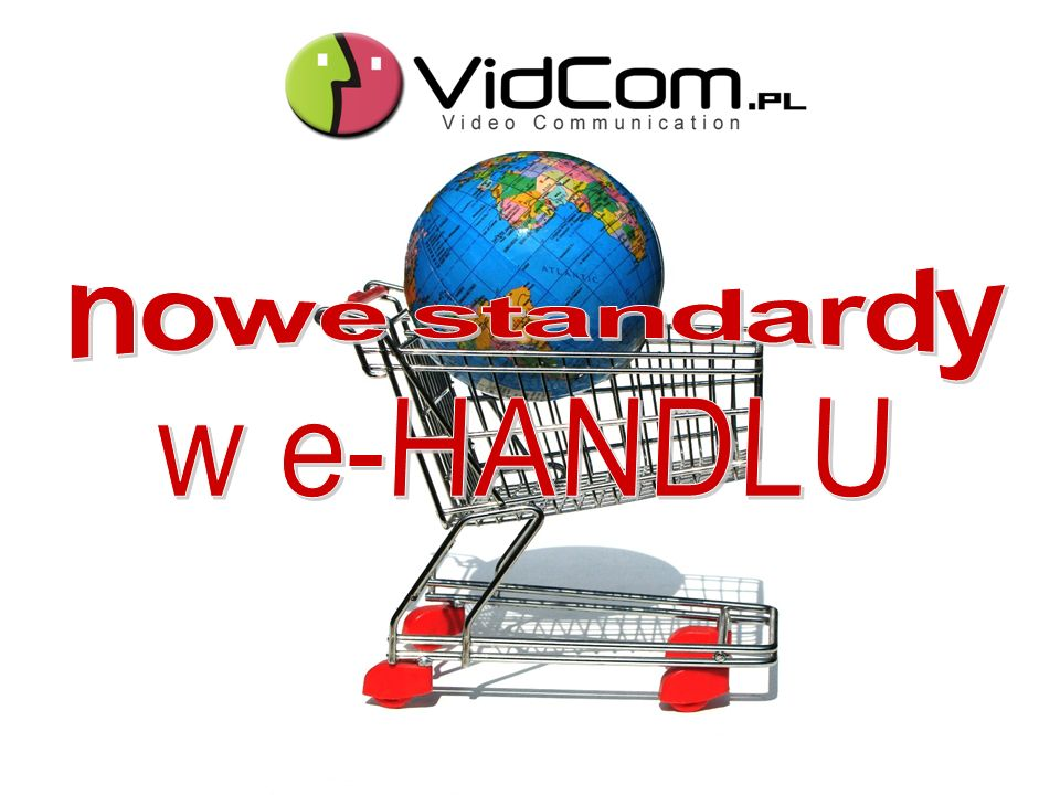 Unikalne narzędzie firmy VidCom.pl SYSTEM DO WIDEOKOMUNIKACJI DLA E-SKLEPU Nowoczesna WIDEOprezentacja Aplikacja e-VideoHandel to wyjątkowa możliwość bezpośredniej wideoprezentacji wystawianych przez Ciebie produktów oraz udzielenia błyskawicznej odpowiedzi na pytania klientów.