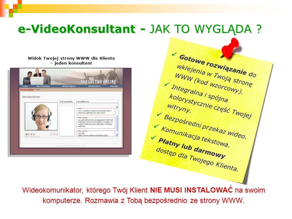 Gotowe rozwiązanie do Gotowe rozwiązanie do wklejenia w Twoją stronę WWW (kod wzorcowy). Integralna i spójna Integralna i spójna kolorystycznie część