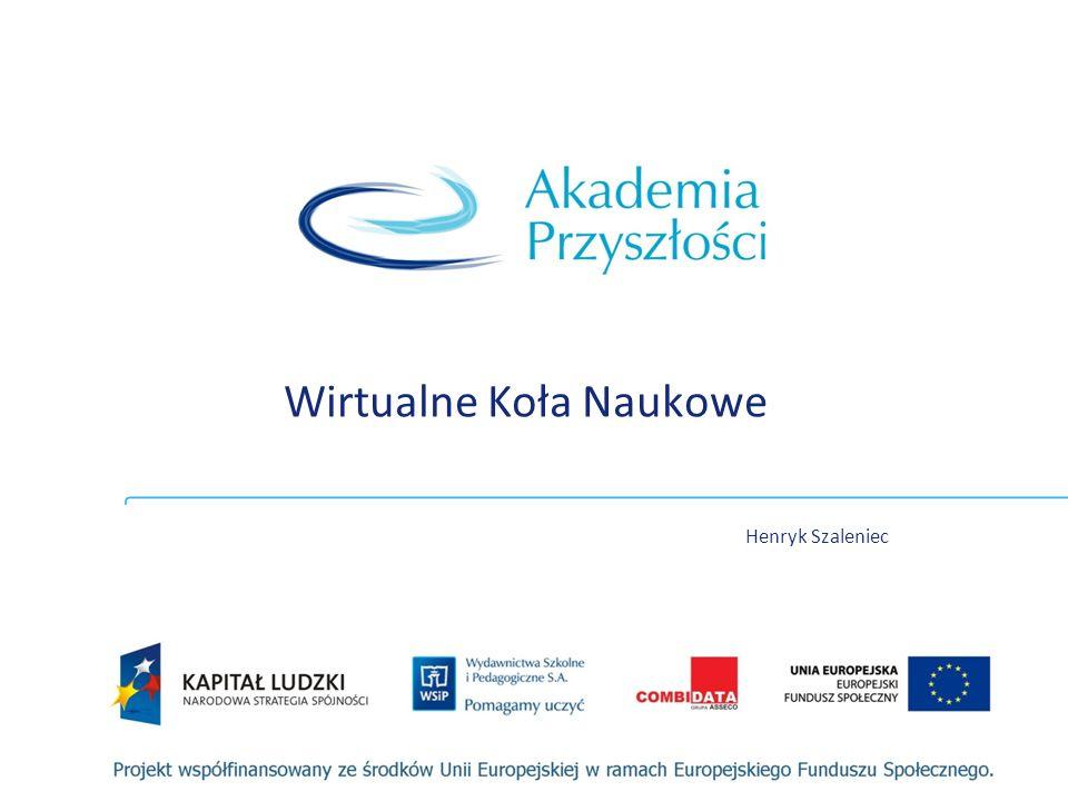 Wirtualne Koła Naukowe Henryk Szaleniec