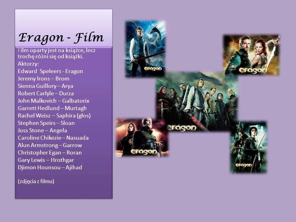 Eragon Eragon to piętnastoletni chłopiec z Carvahall.