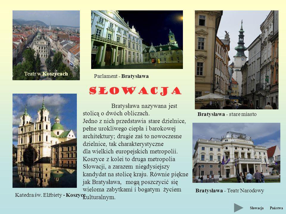 Słowacja Teatr w Koszycach Katedra św.