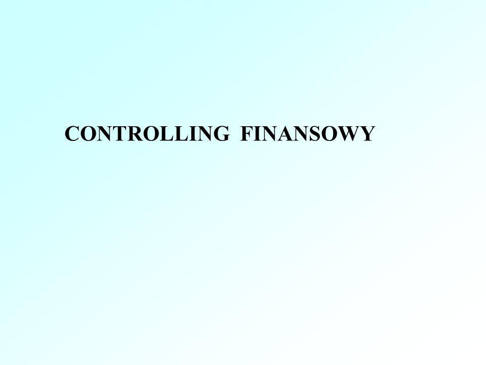 CONTROLLING FINANSOWY