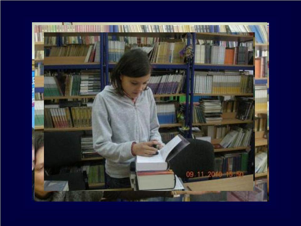 Z życia biblioteki szkolnej Gimnazjum Nr 1 w Konstantynowie ŁódzkimLuty 2011