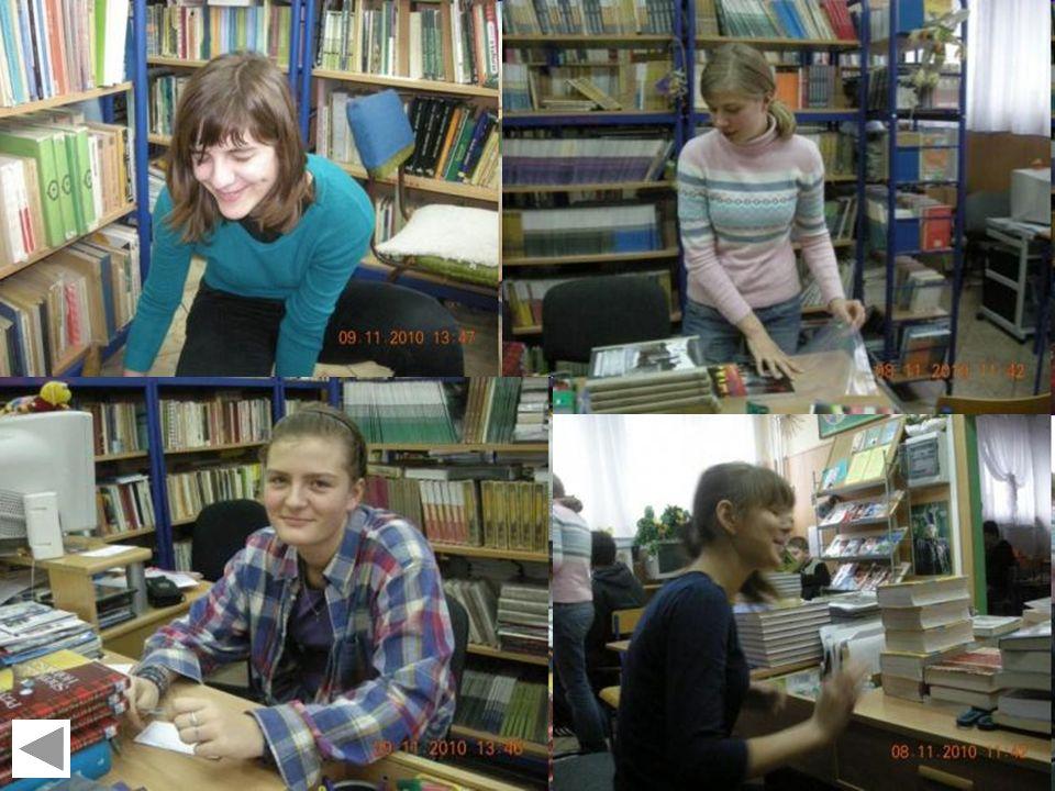 Z życia biblioteki szkolnej Gimnazjum Nr 1 w Konstantynowie ŁódzkimLuty 2011 Jedno jest pewne! Tutaj zawsze jest wesoło, a chętnych do pracy pomocnikó