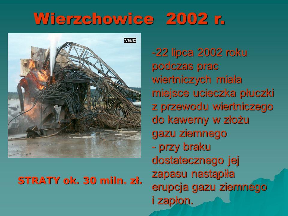 Wierzchowice 2002 r. pow. Milicz woj. Dolnośląskie