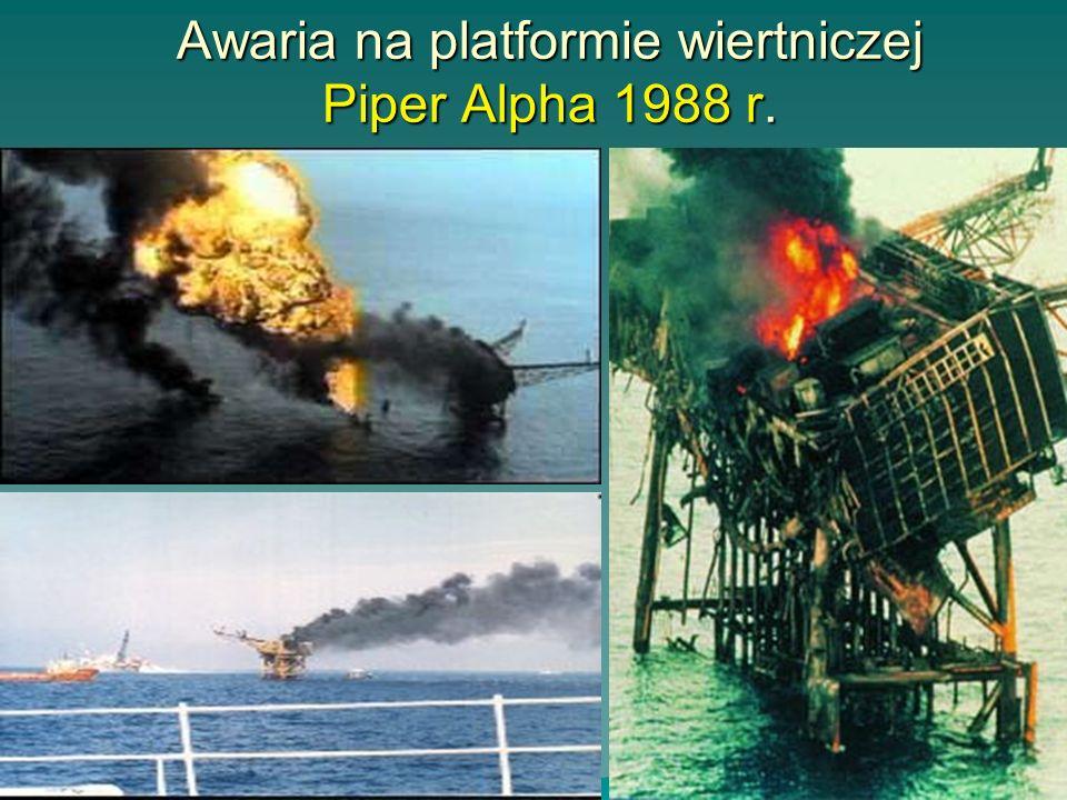 Włochy - SEVESO 1976Włochy - SEVESO 1976 Zakład przeróbki pestycydów i herbicydów Po eksplozji nastąpiło uwolnienie toksycznej chmury z reaktora zawie