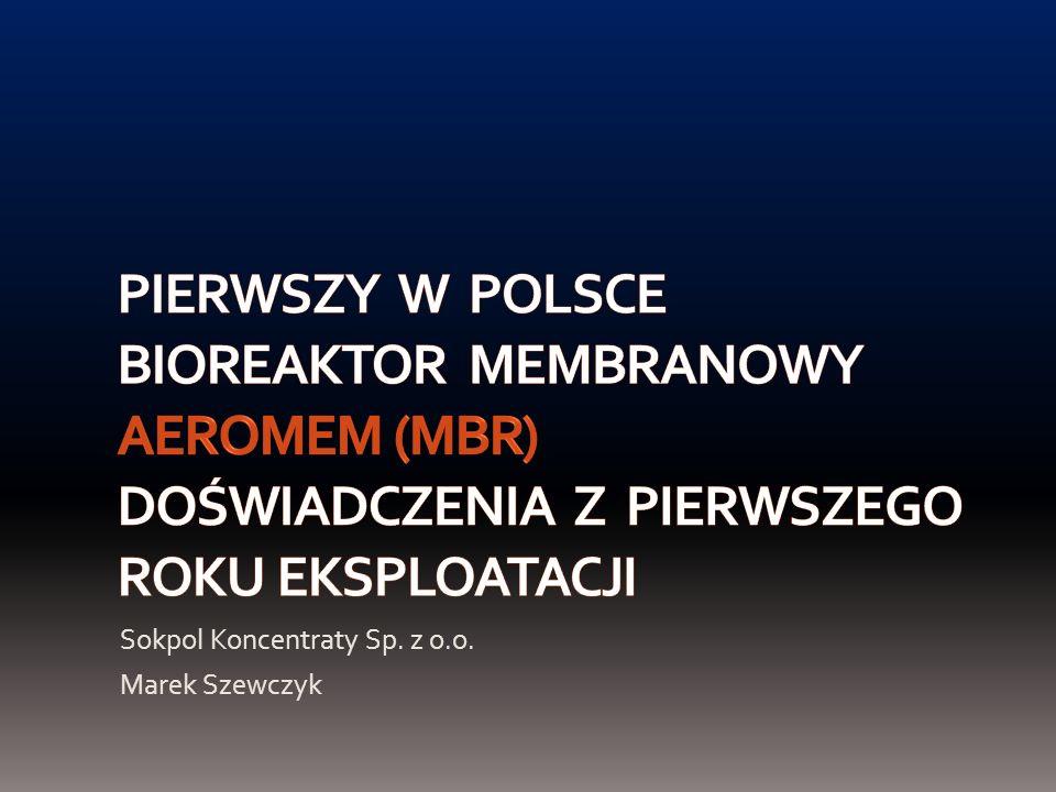 Sokpol Koncentraty Sp. z o.o. Marek Szewczyk
