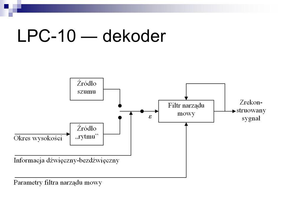 LPC-10 dekoder