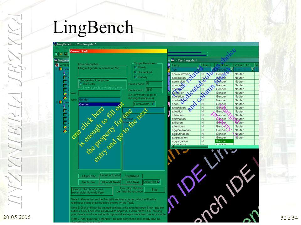20.05.2006 51 z 54 LingBench