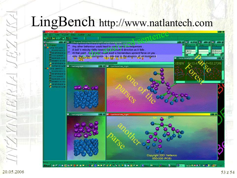 20.05.2006 52 z 54 LingBench