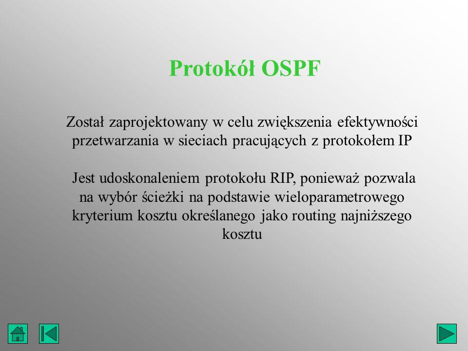 Został zaprojektowany w celu zwiększenia efektywności przetwarzania w sieciach pracujących z protokołem IP Jest udoskonaleniem protokołu RIP, ponieważ