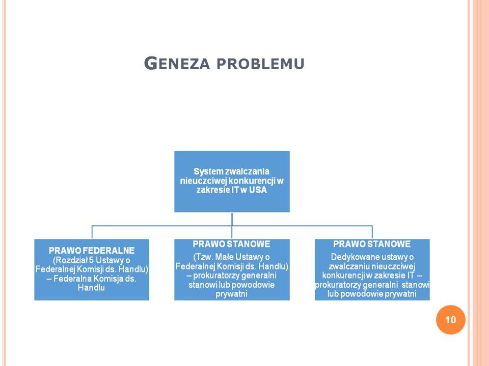 G ENEZA PROBLEMU 10
