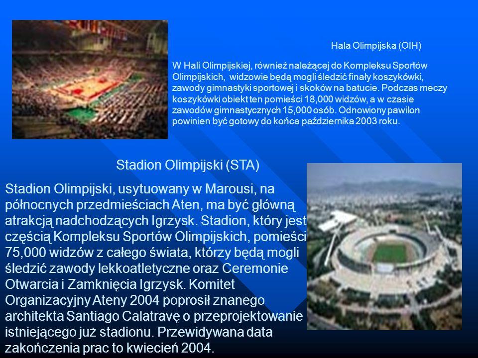 Hala Olimpijska (OIH) W Hali Olimpijskiej, również należącej do Kompleksu Sportów Olimpijskich, widzowie będą mogli śledzić finały koszykówki, zawody