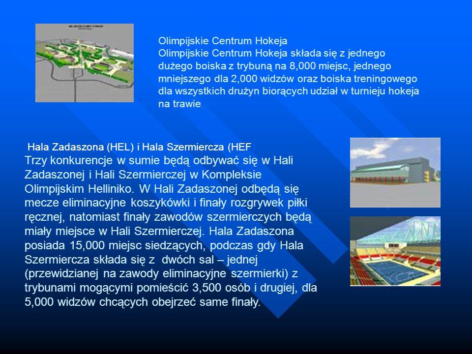 Hala Zadaszona (HEL) i Hala Szermiercza (HEF) Trzy konkurencje w sumie będą odbywać się w Hali Zadaszonej i Hali Szermierczej w Kompleksie Olimpijskim