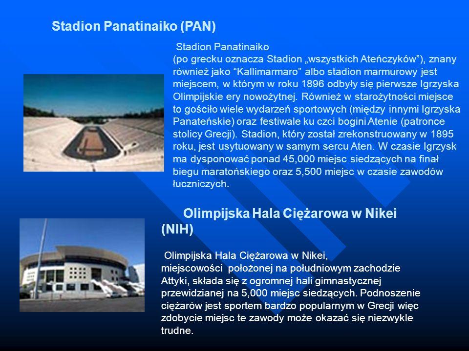 Stadion Panatinaiko (po grecku oznacza Stadion wszystkich Ateńczyków), znany również jako Kallimarmaro albo stadion marmurowy jest miejscem, w którym