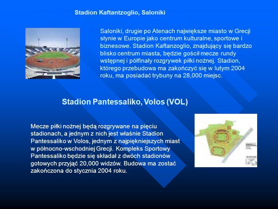 Saloniki, drugie po Atenach największe miasto w Grecji słynie w Europie jako centrum kulturalne, sportowe i biznesowe. Stadion Kaftanzoglio, znajdując