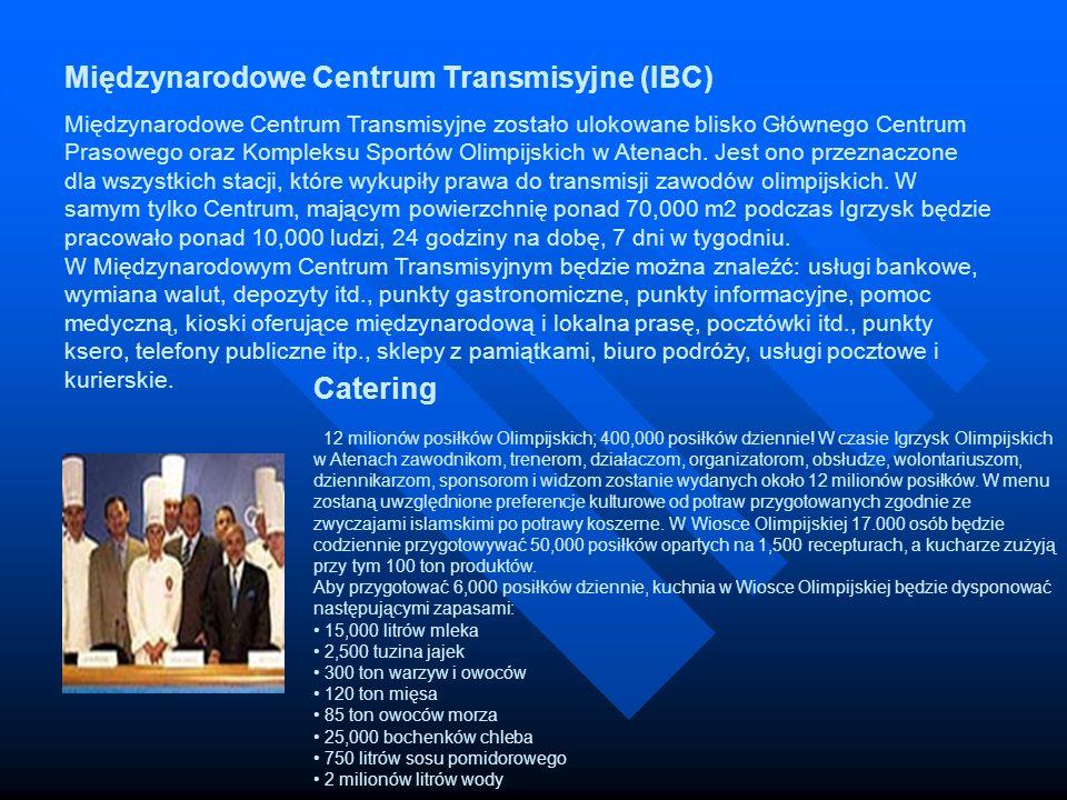 Międzynarodowe Centrum Transmisyjne (IBC) Międzynarodowe Centrum Transmisyjne zostało ulokowane blisko Głównego Centrum Prasowego oraz Kompleksu Sport