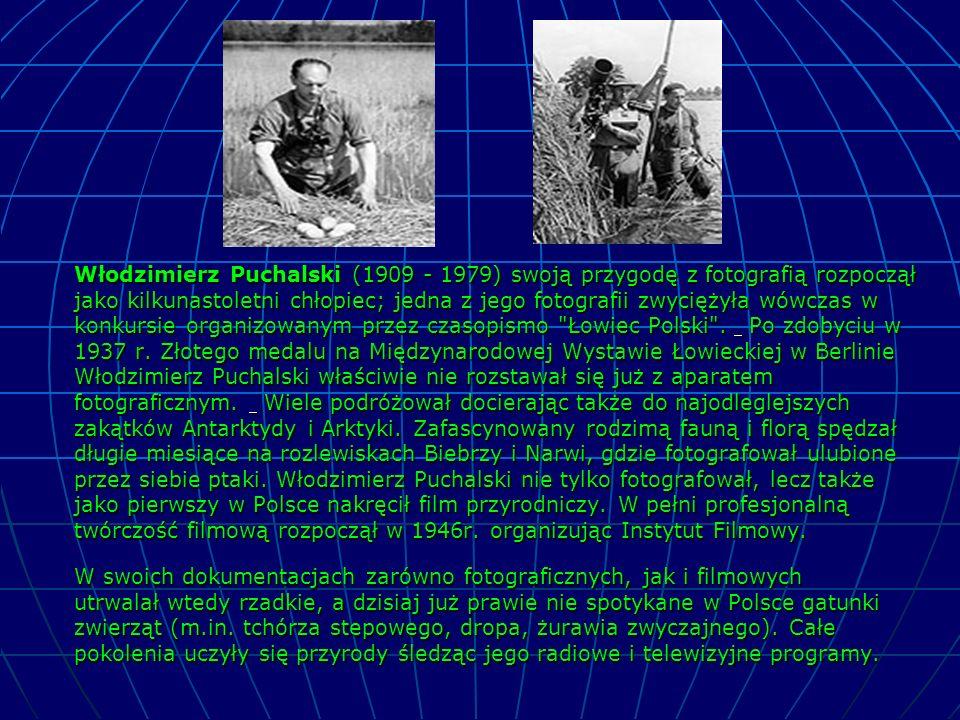 Włodzimierz Puchalski (1909 - 1979) swoją przygodę z fotografią rozpoczął jako kilkunastoletni chłopiec; jedna z jego fotografii zwyciężyła wówczas w