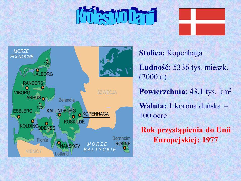 Kopenhaga Stolica Danii leży na wyspach Amager i Zelandia, a krajem zarządza się z wyspy Slotsholmen w centrum Kopenhagi.