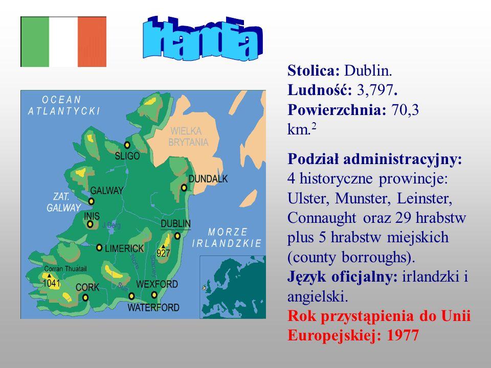 Zieleń Większość turystów przyjeżdżających do Irlandii pragnie zobaczyć piękne zielone krajobrazy.