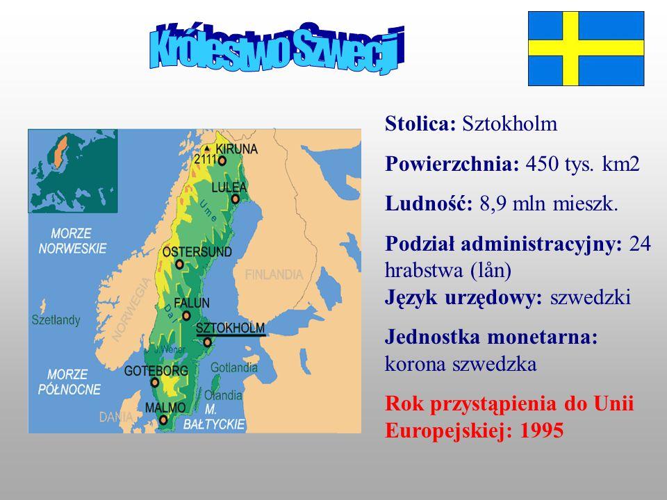 Sztokholm To centrum administracyjne i handlowe Szwecji.Leży nad j.