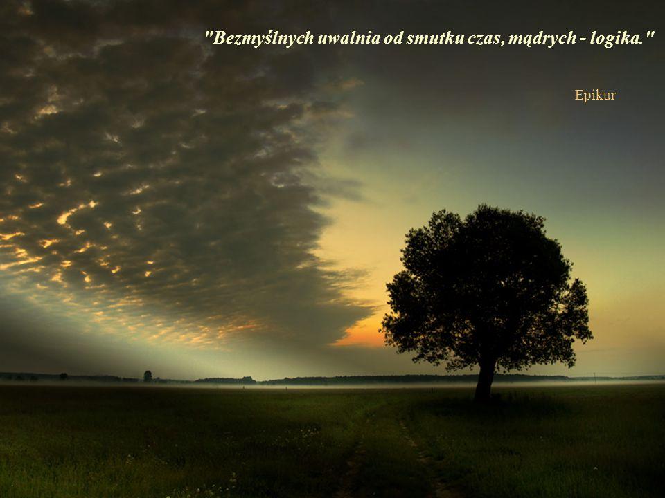 Słowa przynależą do czasu, milczenie do wieczności. Thomas Carlyle