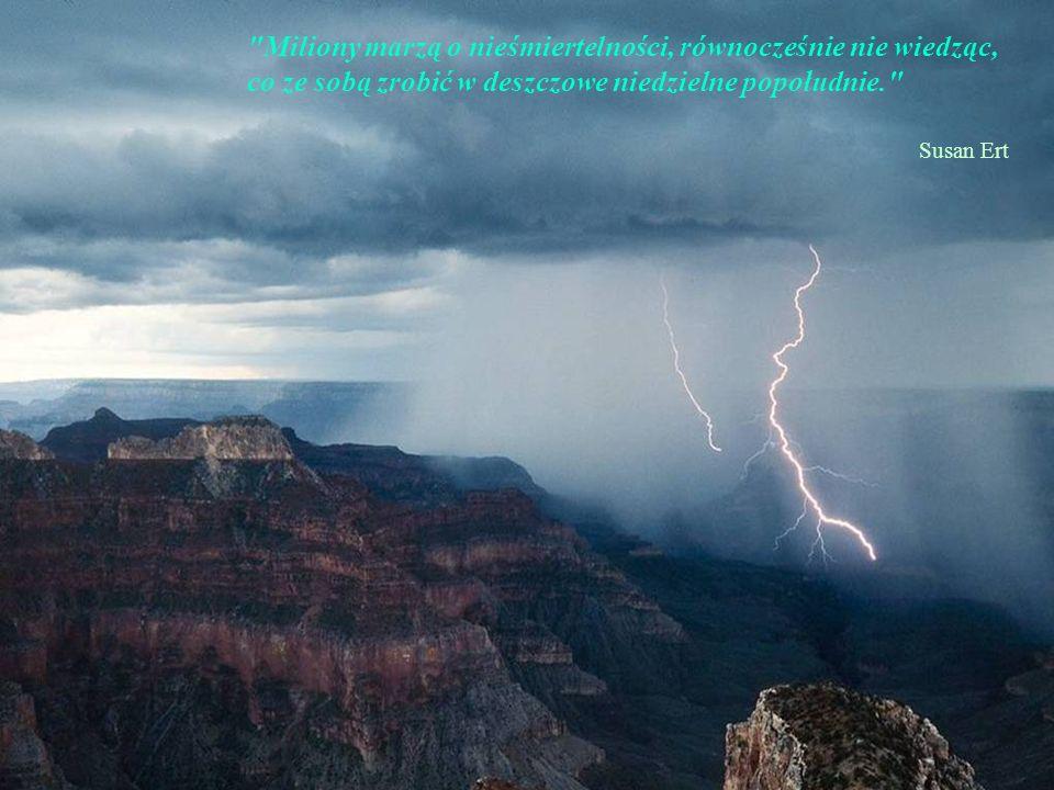 Zmierzch zawsze przypomina wstrzymanie oddechu przez Boga; moment, w którym czas staje w miejscu. Emilie Richards