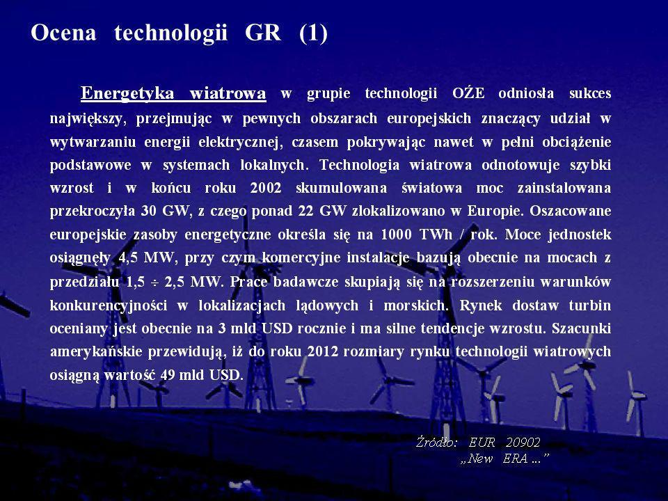 Ocena technologii GR (1)