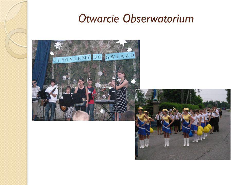 Otwarcie Obserwatorium