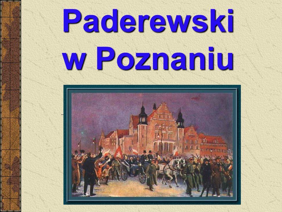 Paderewski w Poznaniu