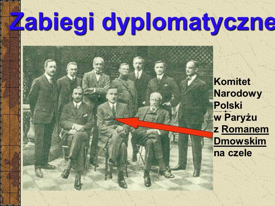Zabiegi dyplomatyczne Komitet Narodowy Polski w Paryżu z Romanem Dmowskim na czele