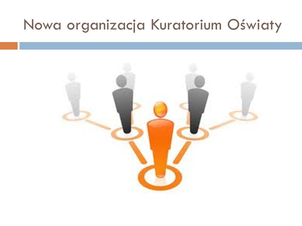 Nowa organizacja Kuratorium Oświaty
