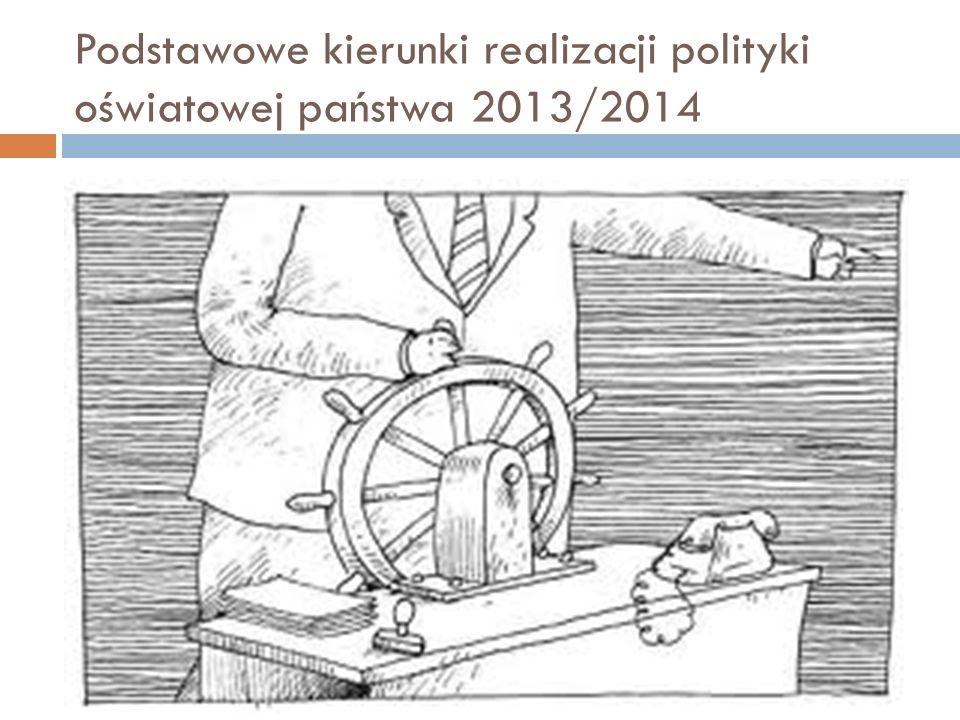 Ustalone przez Ministra Edukacji Narodowej pismem DJE-WNP-BS-5081-8/2013 z dnia 3 lipca 2013 r.