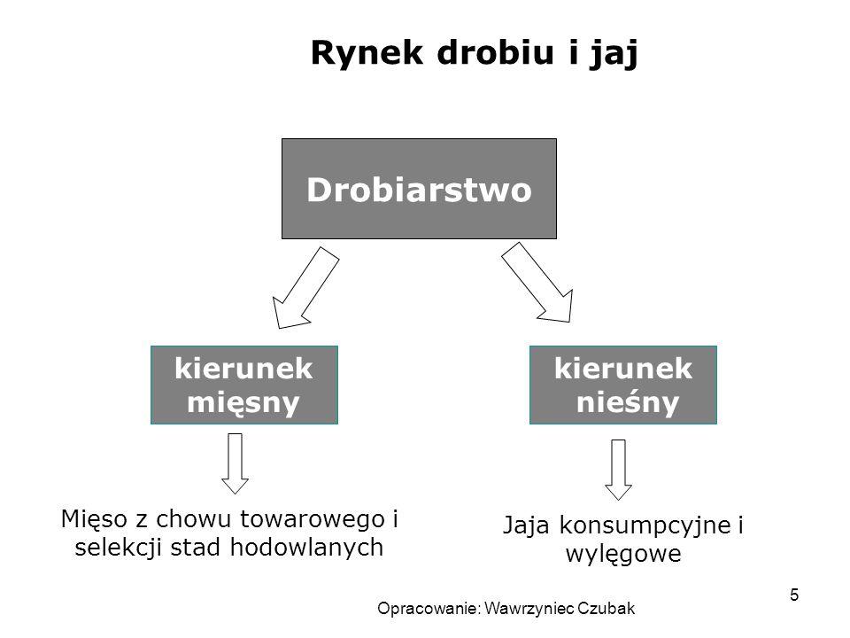 Opracowanie: Wawrzyniec Czubak 6 Rynek drobiu w Polsce Od początku lat 90 rośnie: produkcja Udział drobiu w konsumpcji mięsa – ok.