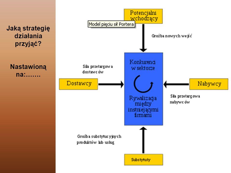 151 Jaką strategię działania przyjąć? Nastawioną na:…….