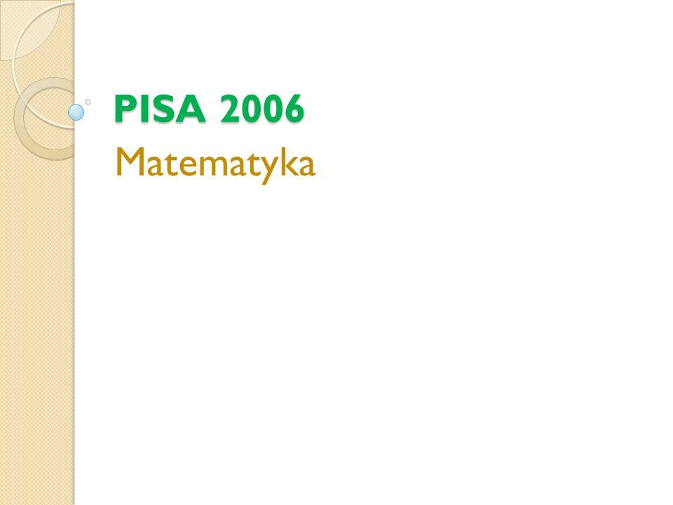 PISA 2006 Matematyka